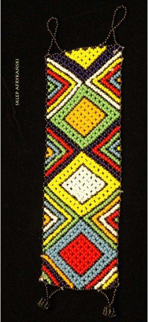 Bransoleta etniczna - Sklep Afrykański