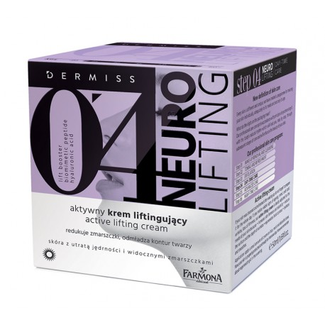 DERMISS 0'4 NEURO LIFTING AKTYWNY KREM LIFTINGUJĄCY 50ml
