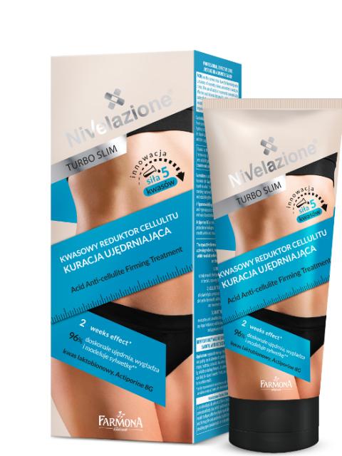 Kwasowy reduktor cellulitu – kuracja ujędrniająca